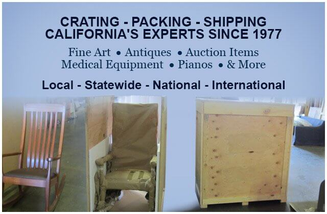 Delicieux Californiau0027s Fine Art Crating; Furniture Packing Experts